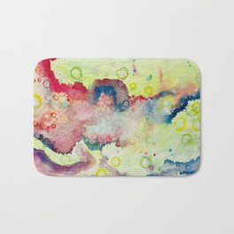 Salt clouds Bath Mat