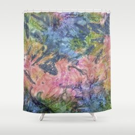 Quilted Colors Shower Curtain