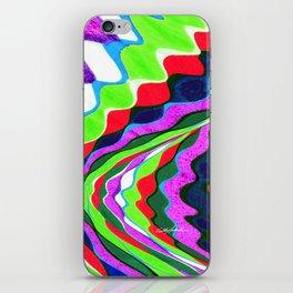 I Dream in Colors iPhone Skin