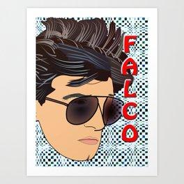 Pop Art Falco Art Print