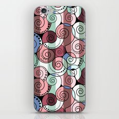Abstract pattern of a Spiral . iPhone & iPod Skin