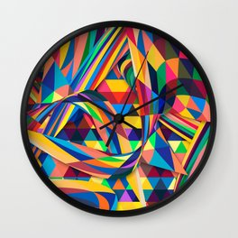 The Optimist Wall Clock