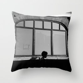 Kennington Station Throw Pillow