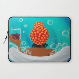 Exhale and Soak Laptop Sleeve