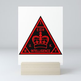 MI5 Secret Service Logo Mini Art Print