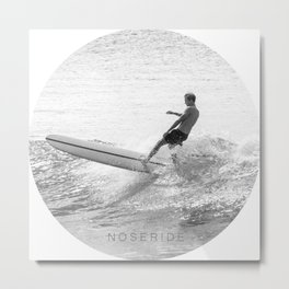 NOSERIDE ROND SURF NOOSA Metal Print