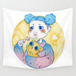 Umie & Mochi IV Wall Tapestry