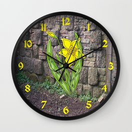 Jonquil Knot Wall Clock