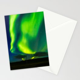 Looking for the light - Iceland Stationery Cards