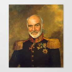 Sir Sean Connery - replaceface Canvas Print