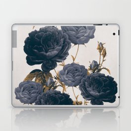 blue flowers Laptop & iPad Skin