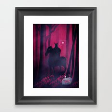 Dangerous Date Framed Art Print