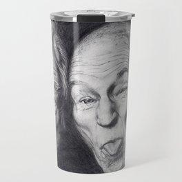 Patrick Stewart & Ian McKellen Travel Mug