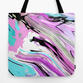 Marbled Lilac Tote Bag