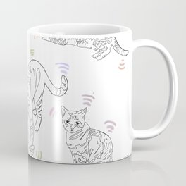 Wifi Cats Coffee Mug
