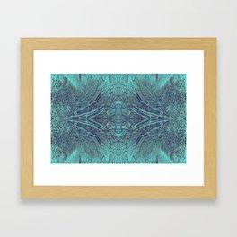 Breaking Through the Wall Framed Art Print