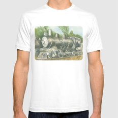 Relic White MEDIUM Mens Fitted Tee