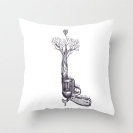 The Only Weapon I Will Ever Fire Throw Pillow