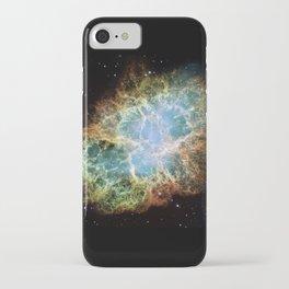 """""""Crab Nebula"""" Taurus iPhone Case"""