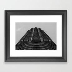 Marina Towers - Chicago Framed Art Print