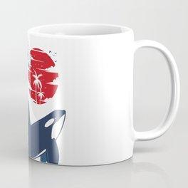 Wave Killer Whale Coffee Mug