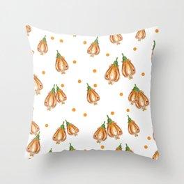 mountain bell flower Throw Pillow