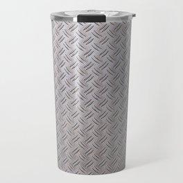 Metal Industrial Pattern Travel Mug