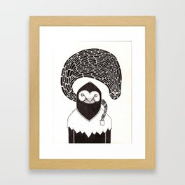 Pocket Monster Framed Art Print