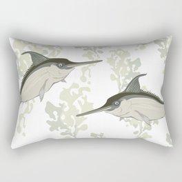 keep it clean Rectangular Pillow