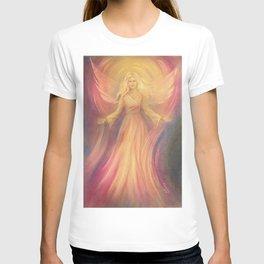 Angel Light Love - Spiritual painting T-shirt