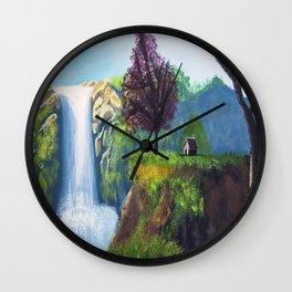 Cascades D'ouzoud Wall Clock