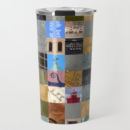 Pieces of Pictures Collage Travel Mug