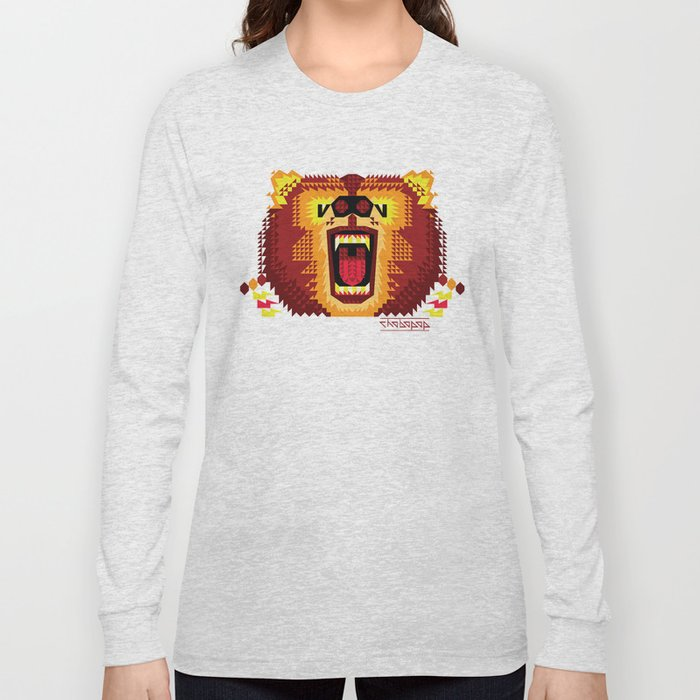 Geometric Bear 2012 Long Sleeve T-shirt