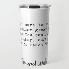 Edmund Hillary q2 Travel Mug