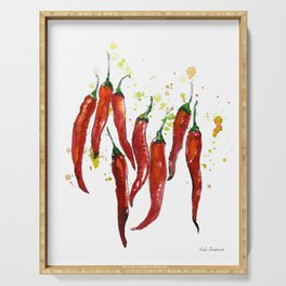 red chili pepper Serving Tray