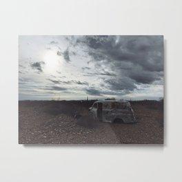 Deserted in Yuma Metal Print