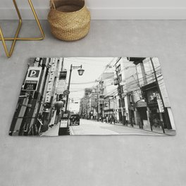 The Streets of Gion, Kyoto Rug