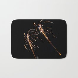 Jets of Fireworks Bath Mat