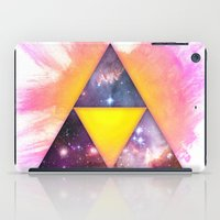 triforce iPad Cases featuring Cosmic Triforce by Spooky Dooky