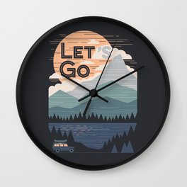 Let's Go Wall Clock