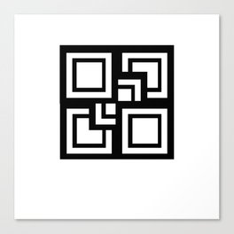 Square Pattern Canvas Print