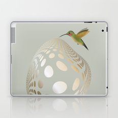 Hummingbird and Bubble Laptop & iPad Skin