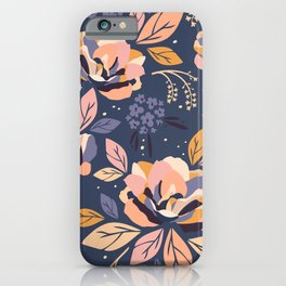 Dreaming Flowers iPhone Case