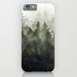 The Heart Of My Heart // Green Mountain Edit iPhone Case