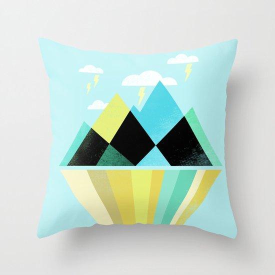 Void Dweller Throw Pillow