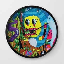 The Treasure Hunters Wall Clock