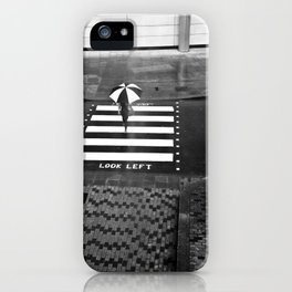 Zebra Crossing, London iPhone Case