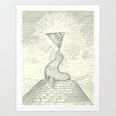 The Masonic Seal Art Print