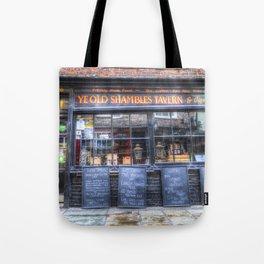 Ye Old Shambles Tavern York Tote Bag