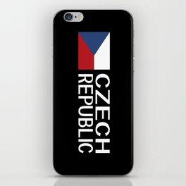 Czech Republic: Czech Flag & Czech Republic iPhone Skin